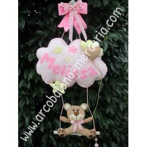 490 Melissa decorazione nascita bambina