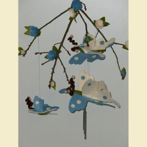 Farfalle Azzurre E Panna