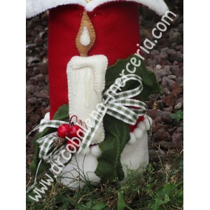 482 Copri bottiglia Babbo Natale