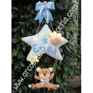 491 Enea decorazione nascita bambino