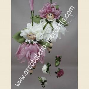 Le fatine dei fiori rosa