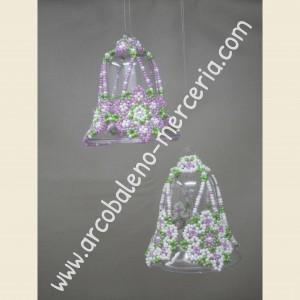 531 Campanelle con coroncine di fiori