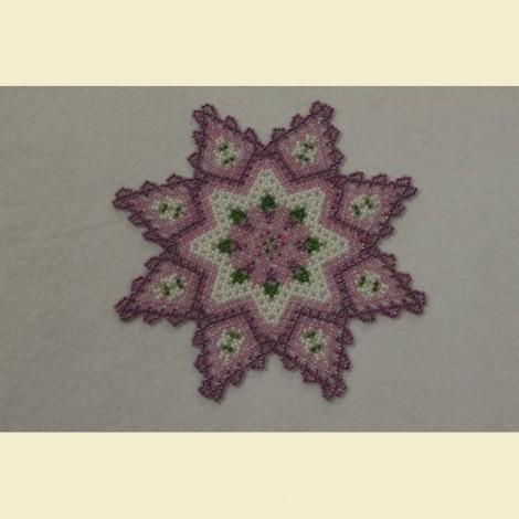 19 centrino stella 8 punte (piccolo) rosa