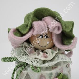 532 Bambolina con lavanda rosa