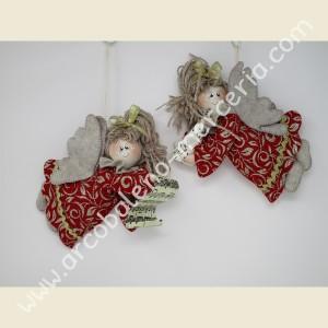 Decorazione natalizia Caterina l'angiolina rossa