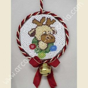 558 Ciondolo per albero di Natale renna