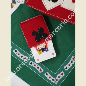 531 Cestino porta tovaglia e carte da gioco
