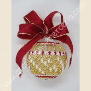 544 Pallina di Natale rete oro