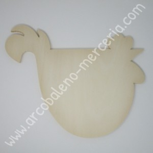 Base per gallina in legno