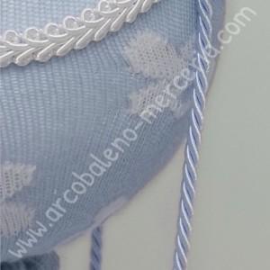 Mongolfiera con tubolare azzurra