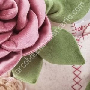 Porta igienizzante con rose
