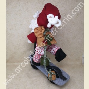 Babbo Natale con monopattino