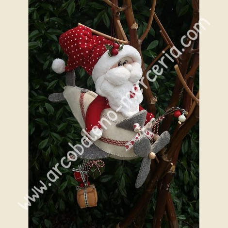 267 L'Aereo Con Babbo Natale
