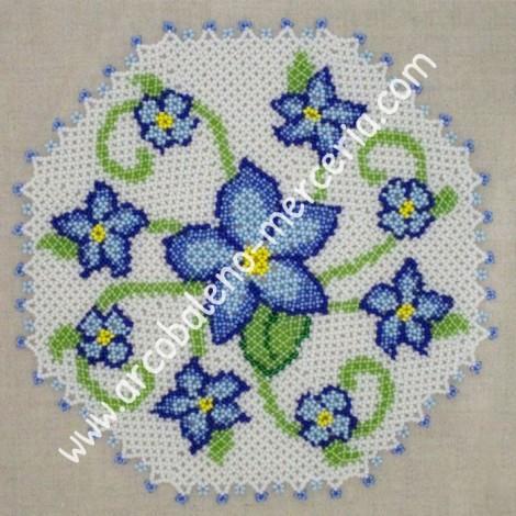 480 Blue Flowers